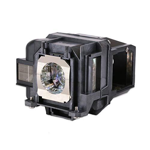 Loutoc V13H010L78 - Lampadina di ricambio per proiettore Epson ELPLP78 EB-S03 EH-TW5100 EH-TW5200 EH-TW570 EB-W12 EB X20 EB-W28, con alloggiamento