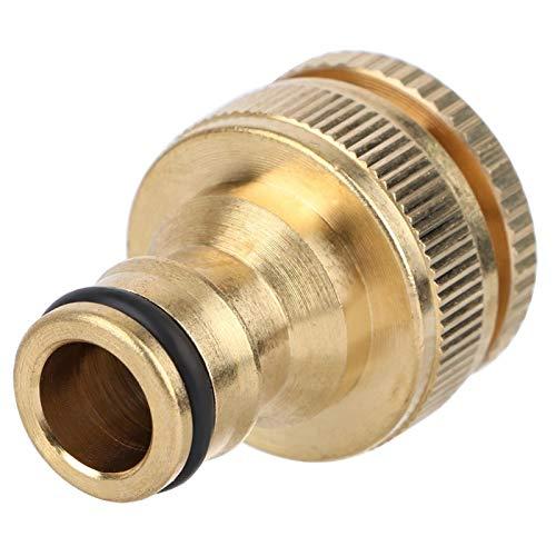 Conector de tubería de Agua, Conector rápido de Manguera de Alta confiabilidad, Conector de Manguera de jardín de latón fácil de Instalar para Invernadero de Patio