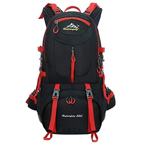 LLRDIAN 40L, 50L, 60Liter Backpack, Great for Outdoor sport, Hiking, Trekking, Camping Travel, Mountain Climbing. Waterproof Mountaineering Bag, Travel Climbing Daypacks, Knapsack, Rucksack