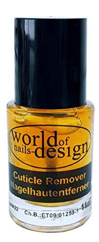 Nagelhautentferner, Nagelhaut Entferner, Cuticle Remover Orange 15ml