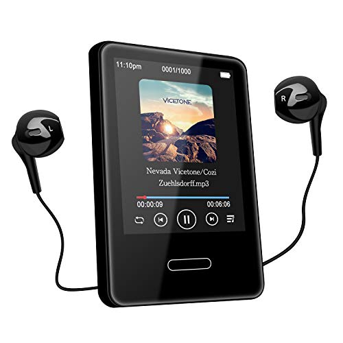 Tenswall MP3 Player with Bluetooth 4.2,...