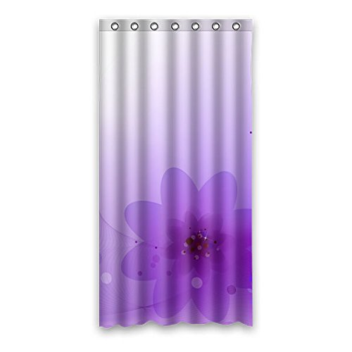 Wild costumes 90 cm X183 cm (91,4 x 182,9 cm) Badezimmer Dusche Vorhang, allgemeine Leuchtendes Violett Custom Wasserdicht Badezimmer Duschvorhang, Polyester, A, 36