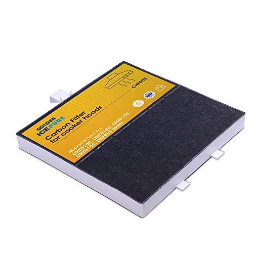 Aktivkohlefilter für Bosch Dunstabzugshaube 360732 DRZ94UC, DHZ5105, DHZ5180, DHZ5185 von GOLDEN ICEPURE CHF005 (rechnung vorhanden)