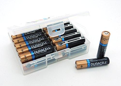 24 Batterien Duracell Ultra AAA Micro LR03 Alkaline in Flachbox