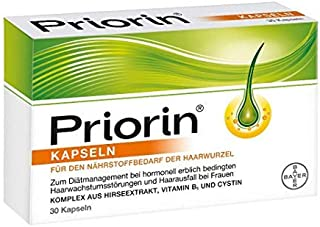 Priorin Capsules, 120 St -Hair Loss Products & Hair Regrowth Shampoos -Personal Care & Hair Care - Spain
