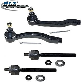 DLZ 4 Pcs Front Suspension Kit-2 Outer 2 Inner Tie Rod End Compatible with 1996 1997 1998 1999 2000 Honda Civic EV367 ES2943R ES2946L