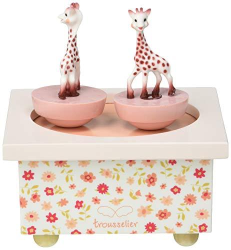 Trousselier T95061 Sophie, die Giraffe, Dreh-Spieluhr - 3