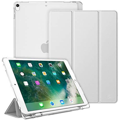 Fintie Funda para iPad Air 10.5' (3.ª Gen) 2019 / iPad Pro 10.5' 2017 con Soporte Integrado para Pencil - Trasera...