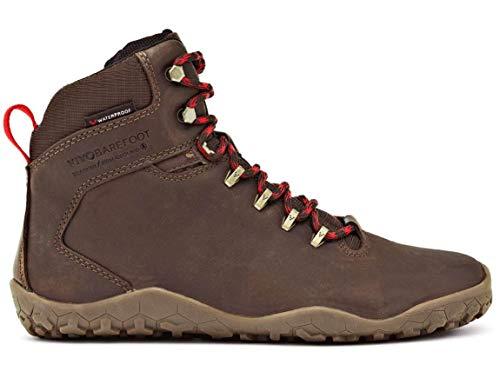 vivobarefoot Men's Tracker FG M Leather Walking Shoe, Dark Brown, 46 EU/(12-12.5) M US