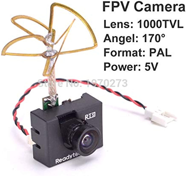 Laliva 1000TVL C VTX Mini Camera with 5.8G 25mW 48CH Video Transmitter Combo Set FPV for RC FX797T FX798T