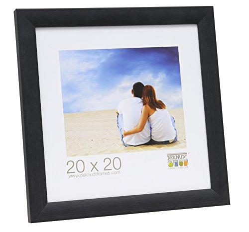 Deknudt Frames S54SF9 fotolijst, hout, 28 x 35 cm, zwart