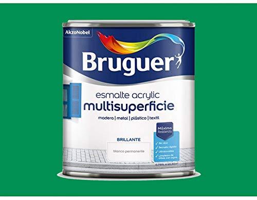 Bruguer - Esmalte acrílico verde primavera bruguer 250 ml