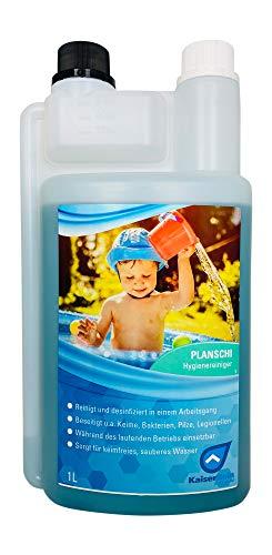 KaiserRein professional Planschi zur Desinfektion und Reinigung von Kinder- Planschbecken Pool und Schwimmbad I Desinfizieren ohne Chlor