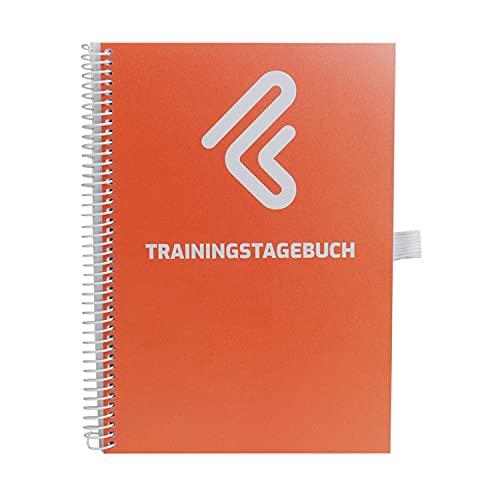 Trainingstagebuch DIN A5 für Home Gym, Krafttraining, Fitnessstudio, Bodybuilding & Cardio | 132 linierte Seiten