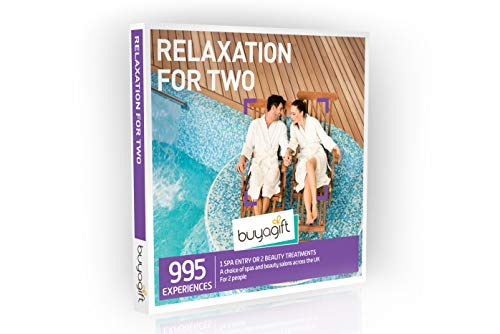 Photo of Buyagift Relaxation for Two Gift Experience Box – Over 995 revitalising spa days and beauty treatments for couples to choose from and share