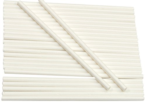 Great Price! Cybrtrayd Paper Lollipop Sticks, 5.5-Inch by 15/64-Inch, Case of 4650