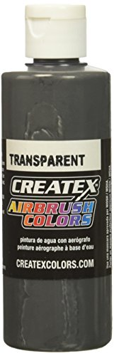 Createx 4 Oz Transparent Medium Gray by Createx
