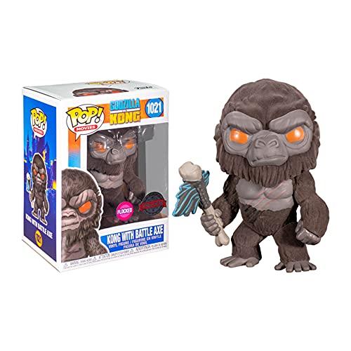 Pop - Godzilla vs Kong 1021- Kong con Scepter Flocked Special Edition