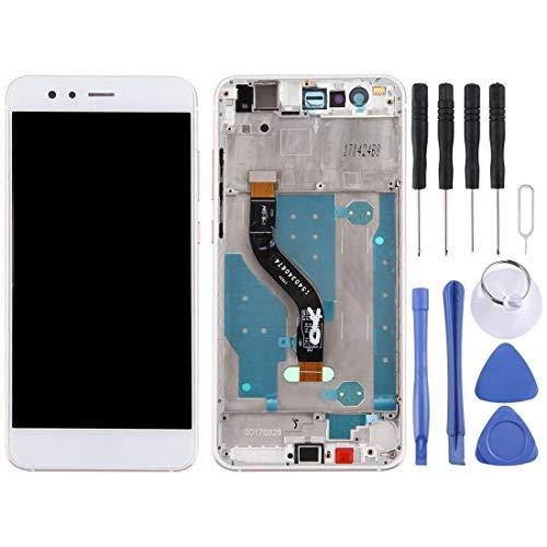 TKTK Mobiele Telefoon Reparatie Onderdelen LCD-scherm Voor Huawei P10 Lite/Nova Lite LCD-scherm en Digitizer Volledige montage met frame (zwart), Kleur: wit