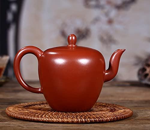 Juego de té de arcilla púrpura de 300 ml Zisha Dahongpao, cerámica, artes, belleza, hombro, tetera, porcelana, arcilla yixing, juego de té de China, taza de té