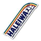 ハレイワハッピーマーケット ステッカー HALEIWA レインボー HHM081 おしゃれ ハワイ ノースショア グッズ
