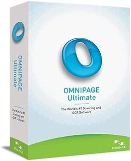 Nuance OmniPage v.19 Ultimate - Upgrade Package - 1 User - Standard