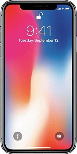 Apple iPhone X Gris Espacial 64 GB (Renewed)