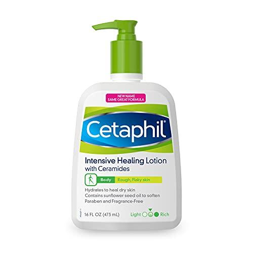 Cetaphil Intensive Healing Body Moisturizer With Ceramides, Fragrance Free 16.0 Fl Oz