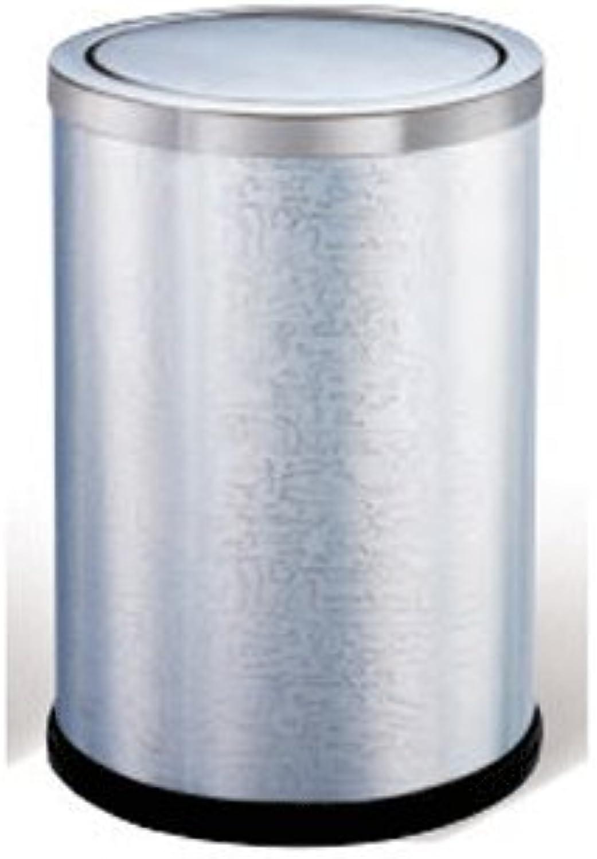 Mülleimer LCSHAN Runder Haushalts (Farbe     Stainless Steel) B07FPC2HBD   Modern  e8becd