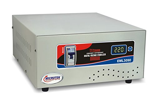 Microtek EML 3090 90V - 300V Voltage Stabilizer for Mainline,...
