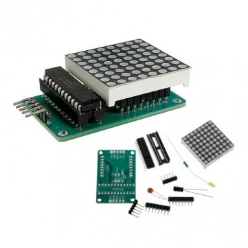 Beautyforall MAX7219 Dot Matrix Module DIY Kit SCM Control Module For Arduino