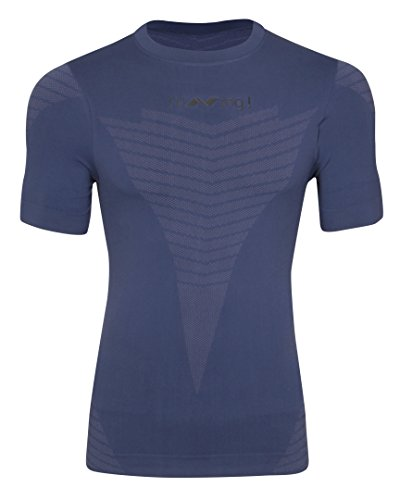 Nivia Xenon-2 Seamless Half Sleeve Fitness T-Shirt