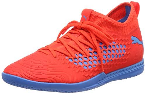 PUMA Herren Future 19.3 Netfit IT Multisport Indoor Schuhe, Rot (Red Blast-Bleu Azur), 40.5 EU