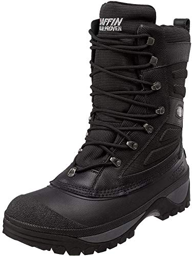 Baffin Crossfire – Men's Winter, Insulated, Tall Height Speed-lacing Leather Boot with Removable Liner