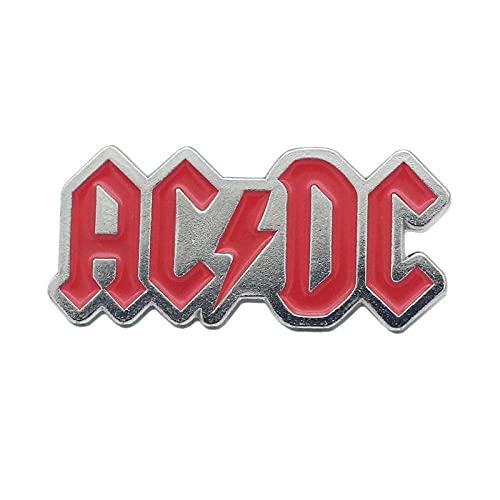 1 Piezas ACDC AC/DC ROCK N ROLL Abrigo Animados Bolsas Broches Sticker Adorables Piezas Camiseta Alfileres Dibujos Dicho Diy Esmalte Fiest Insignias Jeans Juego Manualidades Parches Ropa