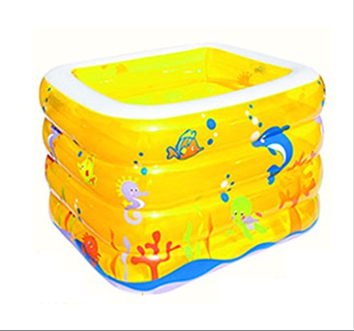 Piscine Gonflable Carree