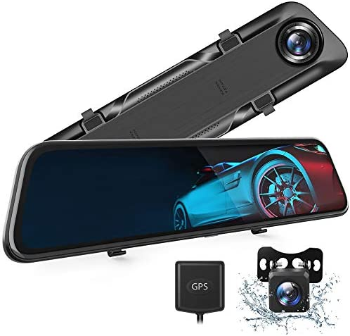 VanTop H612T 12 4K Mirror Dash Cam for Cars Voice Control Full Touch Screen Rear View Mirror product image