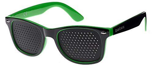 occhiali a raggi x OCCHIALI STENOPEICI BATES MOD. VISION GREEN - ALLENAMENTO E RILASSAMENTO VISTA