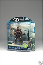 Halo 3 Mcfarlane Toys Series 3 Exclusive Action Figure Brown Spartan Soldier ODST (Battle Rifle and Grenade)
