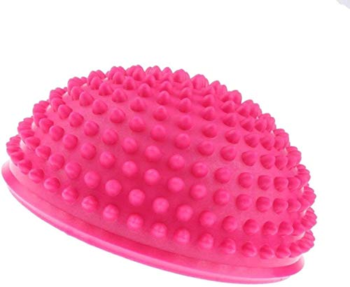hsj Umweltschutz PVC-Anti-Rutsch-Halbkreisförmige Massage-Matte, Yoga Balance Ball (3 PCS) Exquisite Verarbeitung