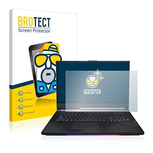 BROTECT Entspiegelungs-Schutzfolie kompatibel mit Asus ROG Strix Scar III Bildschirmschutz-Folie Matt, Anti-Reflex, Anti-Fingerprint
