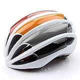 Casco Bicicleta Yuan Ou Casco Ciclismo Ciclismo De Seguridad Sombrero Ventilación Ultraligero 57-61cm Naranja