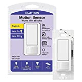 Lutron Maestro Motion Sensor Switch, No Neutral Required, 250 Watts,...