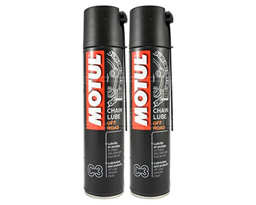 Motul - Lubricante para cadena de motocicleta C3-2 aerosoles de 400 ml