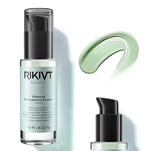 Makeup Primer, Foundation Primer One Step Color Corrector, Primer Base, and Hydrating Makeup Base for reddish skin, Oily, Combination Skin. 1.01 fl oz(Green)