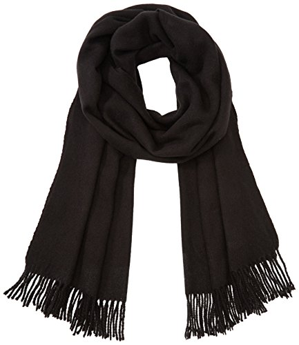 VILA CLOTHES Damen VIAMUSE SCARF Schal, Schwarz (Black), One size