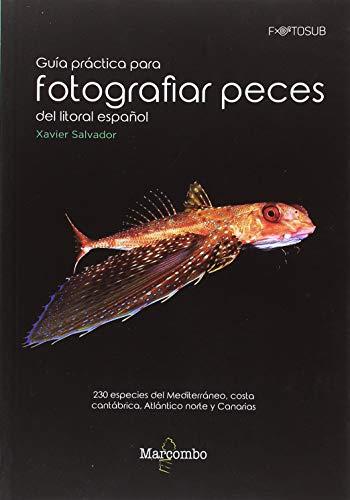 Guía práctica para fotografías peces del litoral español: 230 especies del Mediterráneo, costa cantábrica, Atlántico norte y Canarias: 1 (FOTOSUB)