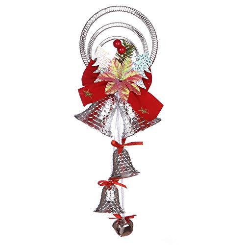 xxccxx Decoraciones navideñas, Campanas, Accesorios, árbol de Navidad, Accesorios, Centro Comercial, pequeña...