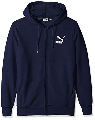 PUMA Sport Adult Essential Fleece Hoody, Peacoat/QUT SHD, X-Large