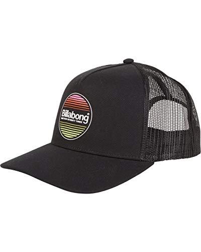 Billabong - Gorra con visera plana para hombre, color negro negro Talla única